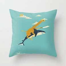 Onward! Throw Pillow