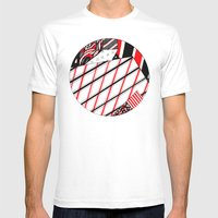 Circle Mens Fitted Tee White SMALL