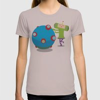 Katamari Demacy Womens Fitted Tee Cinder SMALL