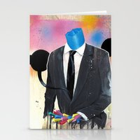 Plasticine Man In A Suit… Stationery Cards