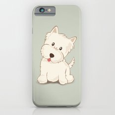 Westie Dog Illustration iPhone 6 Slim Case