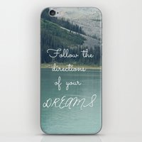 Follow The Directions Of… iPhone & iPod Skin
