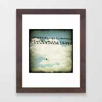 Many And One Framed Art Print