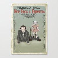 Hop Frog & Trippetta, Ha… Canvas Print