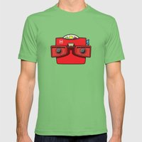 #42 Viewmaster Mens Fitted Tee Grass SMALL