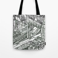 The Town of Train 1 Tote Bag