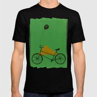 confidant II. (bicycle) Mens Fitted Tee Black SMALL