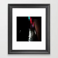 Light And Dark Framed Art Print