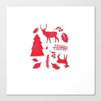 Scandinavian Christmas  Canvas Print