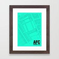 Highbury - It's Arsenal Around Here Framed Art Print