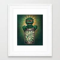 Don't Let The Sunshine R… Framed Art Print