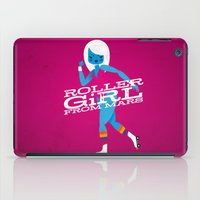 Roller Girl From Mars iPad Case
