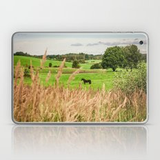 Black horse Laptop & iPad Skin