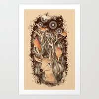 Tears of the Keeper Art Print