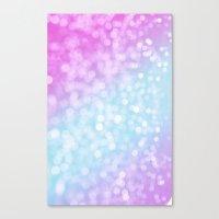 Pastel Glow Canvas Print