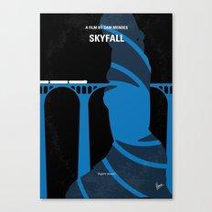No277-007-2 My Skyfall minimal movie poster Canvas Print