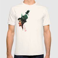 Walls Mens Fitted Tee Natural SMALL