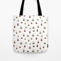 pink terrariums Tote Bag