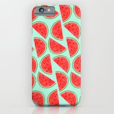 Watermelon Pattern iPhone 6s Slim Case