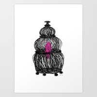 Brooke Figer - Caged Art Print