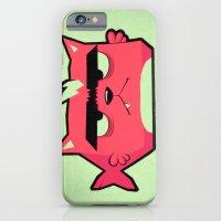 iPhone & iPod Case featuring Cat-Fish by Kerim Cem Oktay