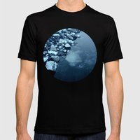 Telescope 10 ice  Mens Fitted Tee Black SMALL
