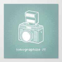 Lomographize It! (light … Canvas Print
