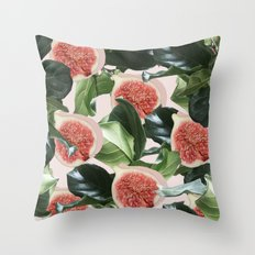 Figs & Leaves #society6 … Throw Pillow