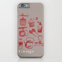 kitchen vintage iPhone 6 Slim Case