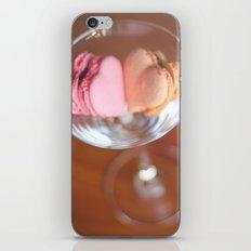 Valentine macarons iPhone & iPod Skin
