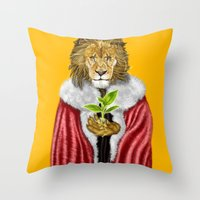 Love Nature Throw Pillow