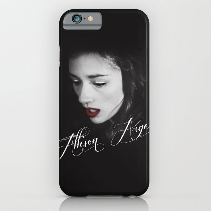 allison argent teen wolf iphone ipod case by. Black Bedroom Furniture Sets. Home Design Ideas