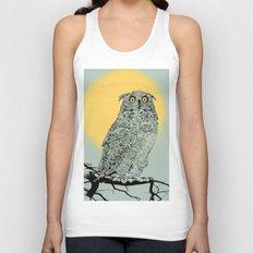 Owl Unisex Tank Top