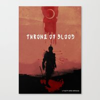Throne Of Blood Canvas Print