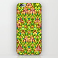 colored structure iPhone & iPod Skin