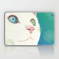 Odd-eyed White Cat Laptop & iPad Skin