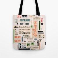 Soyez Adorable à Aimer  Tote Bag