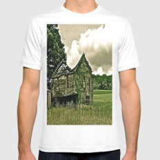Better Days Gone By Mens Fitted Tee SMALL White