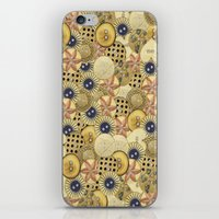 Covered in Buttons iPhone & iPod Skin