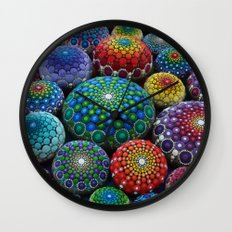 Jewel Drop Mandala Stone… Wall Clock