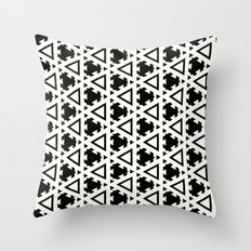 Jeremiassen Black & White Throw Pillow