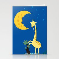 The Delicious Moon Chees… Stationery Cards