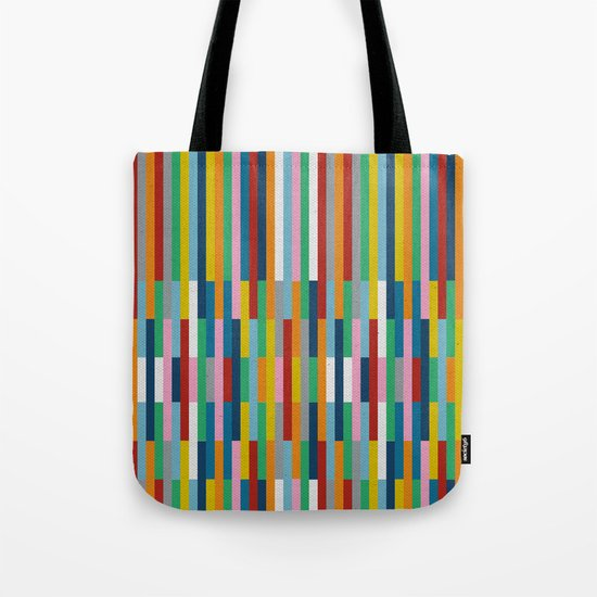 Bricks Rotate #3 Tote Bag
