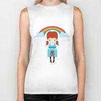 Dorothy Wizard Of Oz Biker Tank