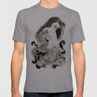 The Dragon's Gate Mens Fitted Tee Athletic Grey SMALL