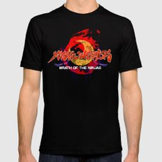 Mystic Warriors SMALL Mens Fitted Tee Black