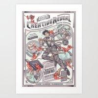 CreativeReveal - Le Desi… Art Print