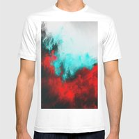 Painted Clouds III.1 Mens Fitted Tee White SMALL