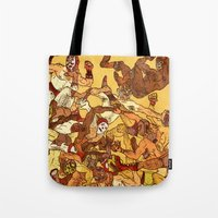 Some Guys Like it Rough Tote Bag