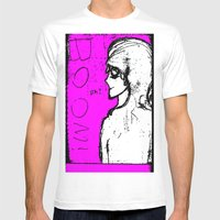 Boom! Mens Fitted Tee White SMALL